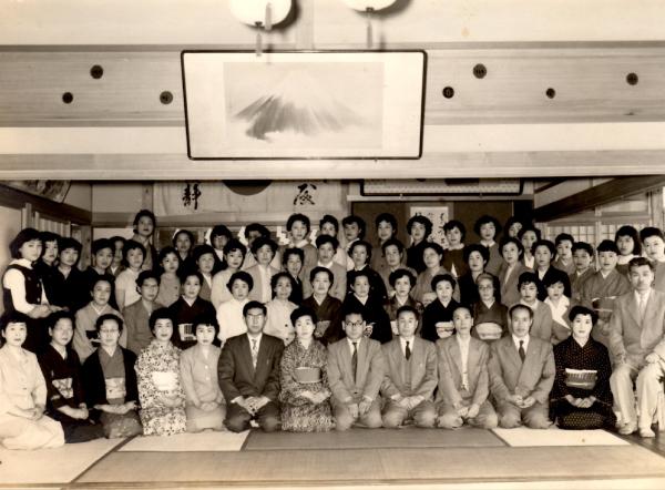 吉井式和裁早縫学校 入学式 第一期生
